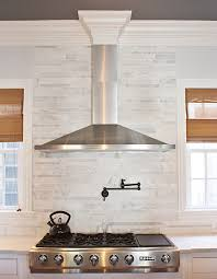 Linear Tile Backsplash Design Ideas - Linear tile backsplash