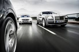 white bentley back revisited mercedes s600 vs rolls royce ghost sii vs bentley