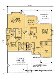 plan cuisine 10m2 modern house garage cottage blueprints by exciting home plans
