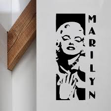 Marilyn Monroe Bedroom by Popular Marilyn Monroe Classic Wall Stickers Buy Cheap Marilyn