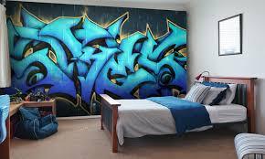 graffiti boys bedroom graffiti wallpaper for your teenager s bedroom wallsauce