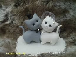 cat cake topper decor cat wedding cake topper 2448636 weddbook