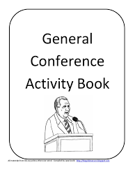 general conference activity book god the father missionary