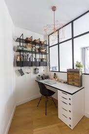 etagere bureau ikea mathilde chesneau architecte appartement 19ème bureau