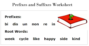 prefixes and suffixes worksheets free printable 2nd grade english