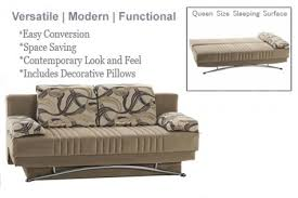 Convertible Sofa Queen Tan Futon Sofa Lounger Fantasy Modern Sofa Bed The Futon Shop