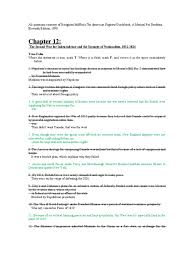 chapter 12 workbook james monroe war of 1812