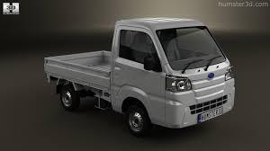 subaru sambar 360 view of subaru sambar truck 2014 3d model hum3d store