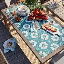 tile table top design ideas mosaic tiled dining table west elm elegant 0 inspirations
