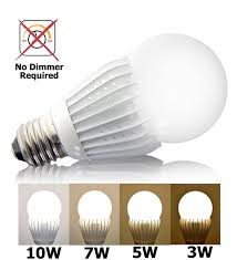 Medium Base Led Light Bulbs by Ismartled 4 Switchable Led Lighting Levels Of 10w 7w 5w 3w Not