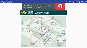 Singapore Subway Map by Singapore Mrt Map Android Apps On Google Play