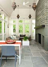 porch flooring ideas screened in porch flooring country porch with fence screened porch