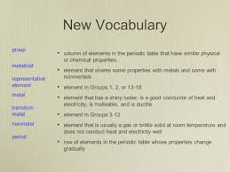 the development of the modern periodic table section 1 introduction to the periodic table ppt video online