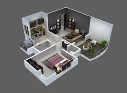 one floor house 25 one bedroom house apartment plans