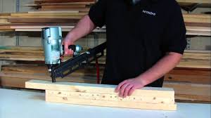 Central Pneumatic Framing Nail Gun by Hitachi 21 Degree 3 1 4 In Plastic Collated Full Round Head