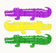mardi gras alligator mardi gras alligator nola crafted designs