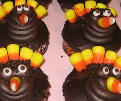 thanksgiving turkey cupcakes recipe
