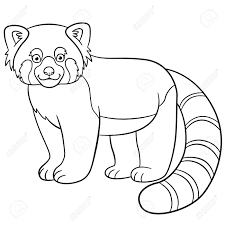 Webkinz Red Panda Coloring Page Free Printable Pages For  napisyme
