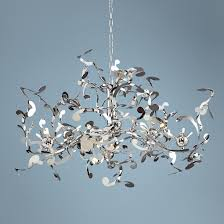 Possini Chandeliers Possini Euro Design 18 Light Curly Ribbon Pendant Lampsplus Com