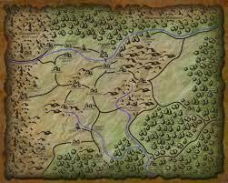Faerun Map Dungeons U0026 Dragons 5e The Daggerdale Campaign Sandbox U2013 Neuronphaser
