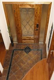 Border Floor Tiles Handmade Custom Entryway Grand Foyer Floor Tile Medallion And