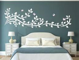 pochoir mural chambre peinture au pochoir sur mur cr ation et r alisation de peintures