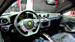 Ferrari California T Interior 2015 Ferrari California T Spider At 2014 Geneva Motor Show