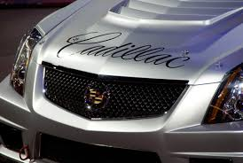 cadillac cts emblem cadillac cts v race car