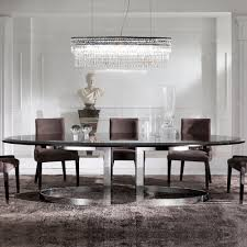 high end modern oval dining table juliettes interiors chelsea
