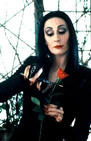 Morticia Addams Halloween Costume Dress Morticia Addams Cautionary Women