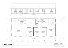 4 bedroom home plans 4 bedroom rectangular house plans rectangular house plans 3