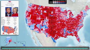 Election 2016 Map by Election Map Showing Trump U0027s Win Reportedly Being Hung In The