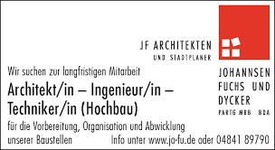 stellenmarkt architektur architekt in ingenieur in techniker in hochbau sh
