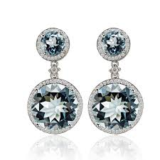 topaz earrings topaz earrings for women