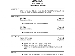 cool idea resumedoc 4 free resume templates template for wordpad