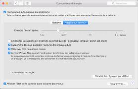afficher disque dur bureau mac utiliser les réglages de l économiseur d énergie sur votre mac