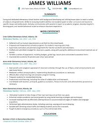 Teacher Resume Experience Examples 100 First Year Elementary Teacher Resume Newspaper Sales Rep