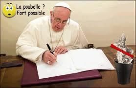 adultere au bureau sosa dénoncé pour hérésie le mémo est sur le bureau du pape la
