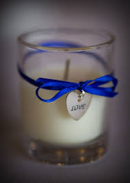 Blue Favors by Best 25 Diy Candles Wedding Favors Ideas On Wedding