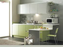 interior modern green and white kitchen cabinet set ideas with