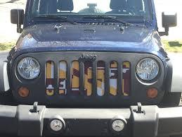 burgundy jeep 2017 burgundy u0026 gold maryland flag jeep grill u2013 route one apparel