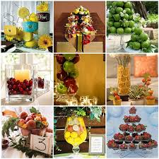 fruit centerpiece wedding centerpiece ideas creative fruit wedding centerpi