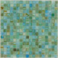Glass Tile Border Botanical Glass Sea Glass Tiles 5 8