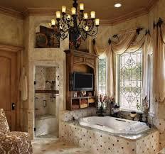 Tuscan Style Curtains Bathroom Delightful Bathroom Window Treatment Ideas Shower