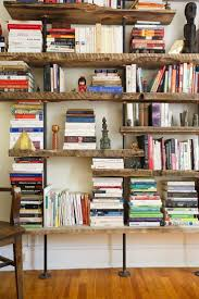 Building Wooden Bookcase by Best 25 Industrial Bookshelf Ideas On Pinterest Pipe Bookshelf