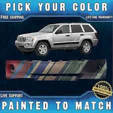 new painted to match front bumper cover fascia 2005 2007 jeep