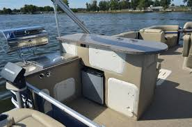 Vinyl Pontoon Boat Flooring by Pontoon Restoration Services