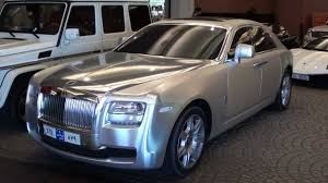 matte rolls royce ghost matt chrome silver rolls royce ghost what a stunning combo youtube