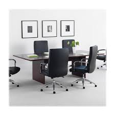 Basyx By Hon Blc72rnn Rectangular Conference Table With Slab Base