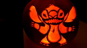 stitch pumpkin carving youtube